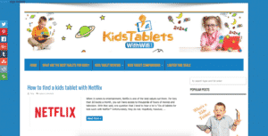 kids tablets with wifi niche