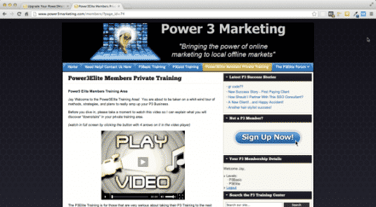 Power 3 Marketing Review