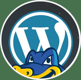 hostgator wordpress hosting logo