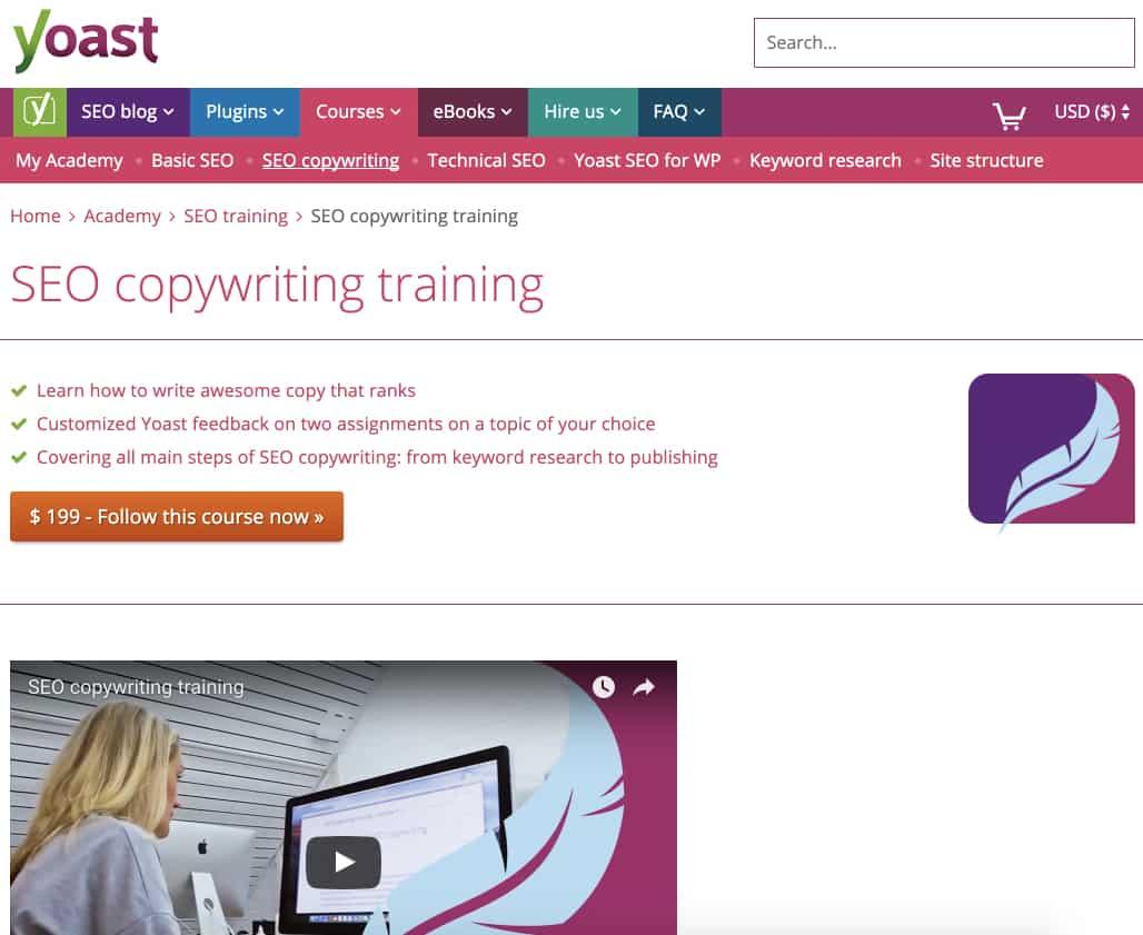 Yoast SEO Copywriting Training Review