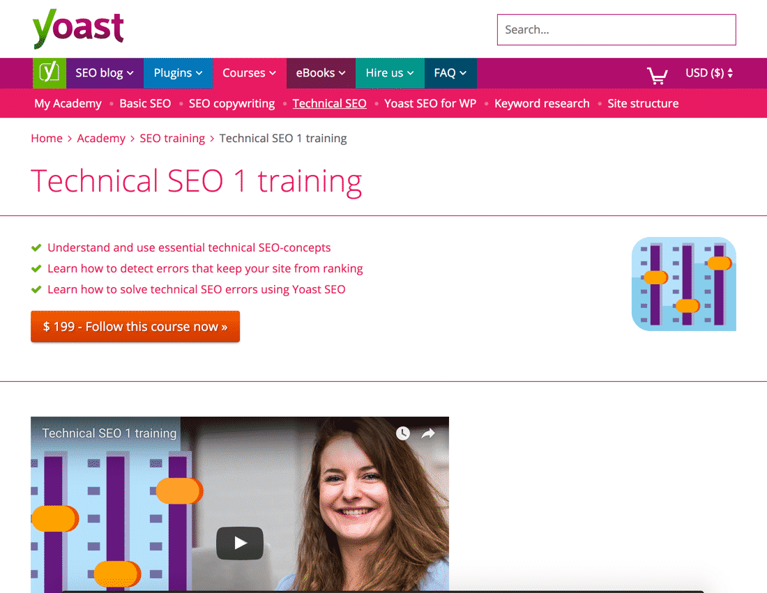 Yoast Technical SEO 1 Training Review