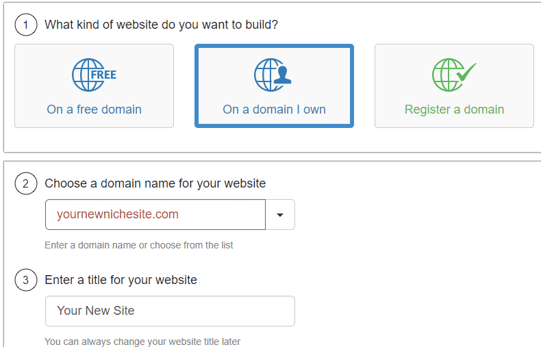 Website Hosting at Wealthy Affiliate