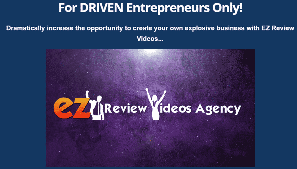 EZ Review Videos Upsell #1 - EZ Review Videos Agency