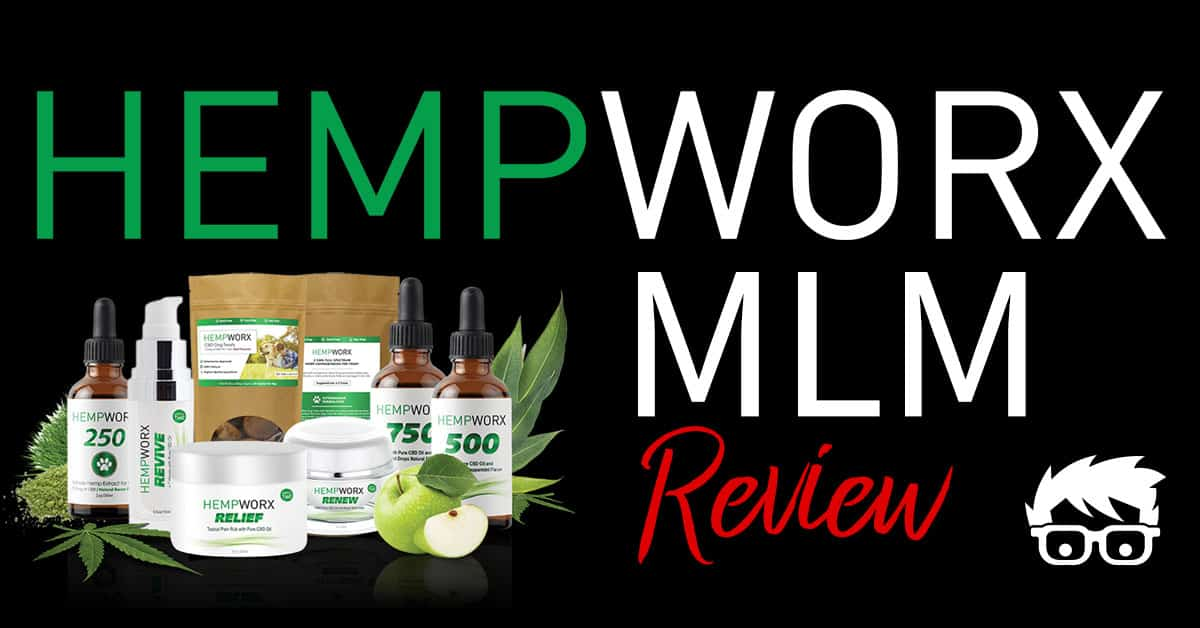 HempWorx MLM Review - Can You Make Money Selling CBD Oil Online?