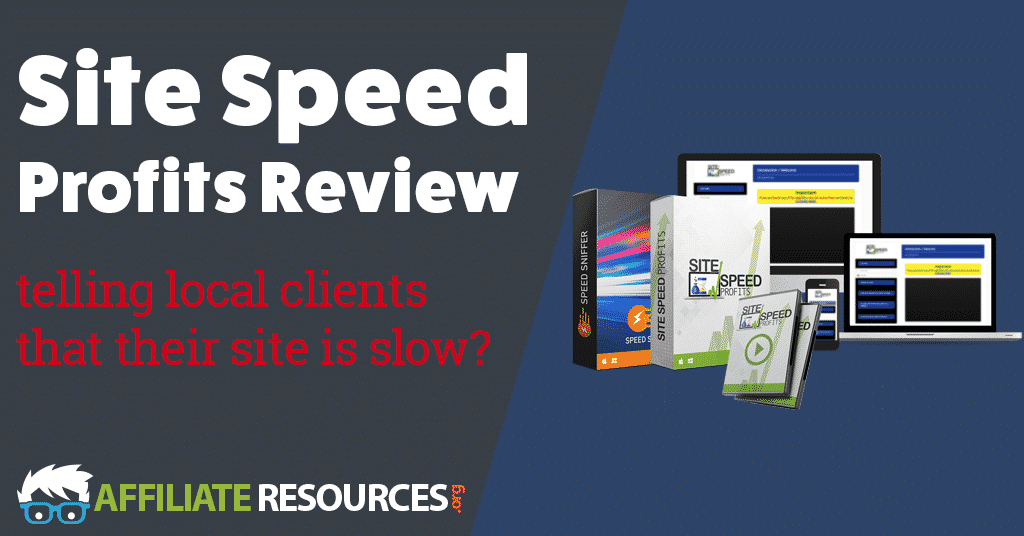 site speed profits review