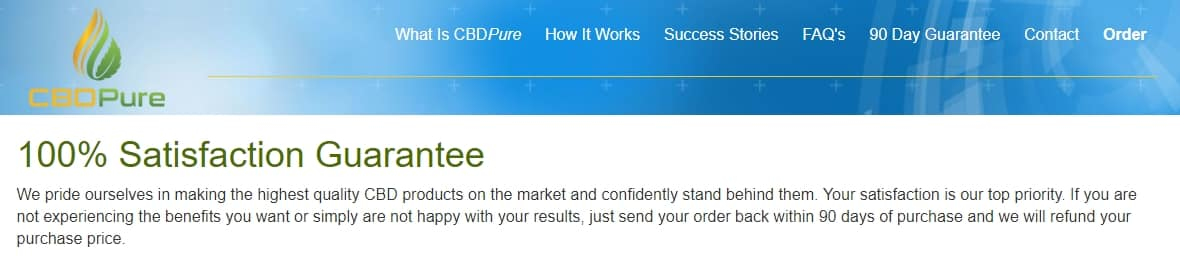 CBDPure Affiliate Program Review - an Amazing CBD Oil