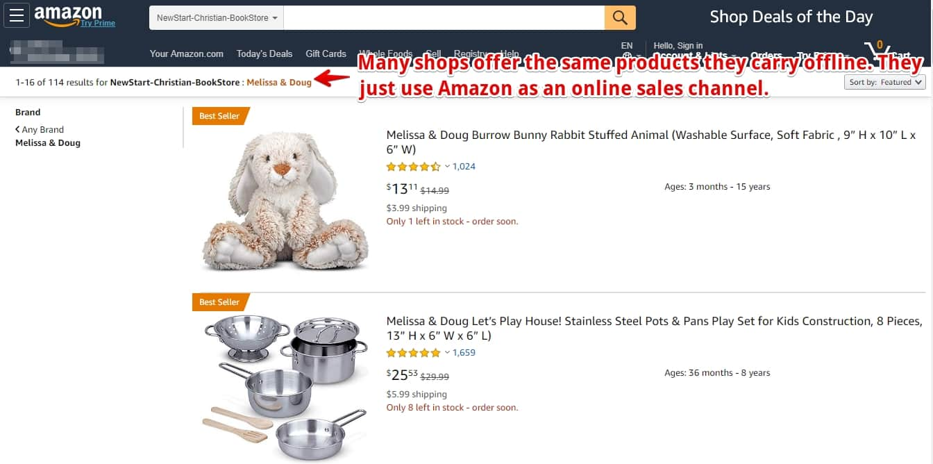 where to find christian affiliate programs amazon store