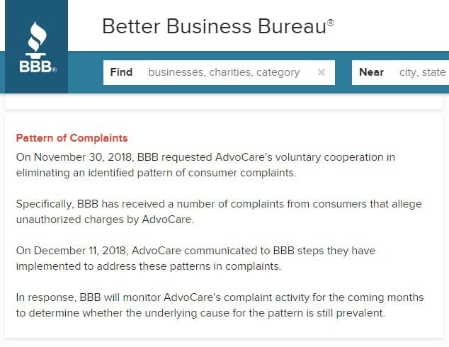 AdvoCare MLM Review - BBB Complaints