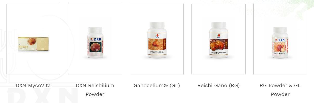 DXN MLM Review - Products