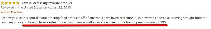 Zurvita Amazon Product Review