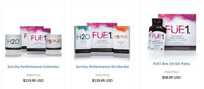 Zurvita Performance Products