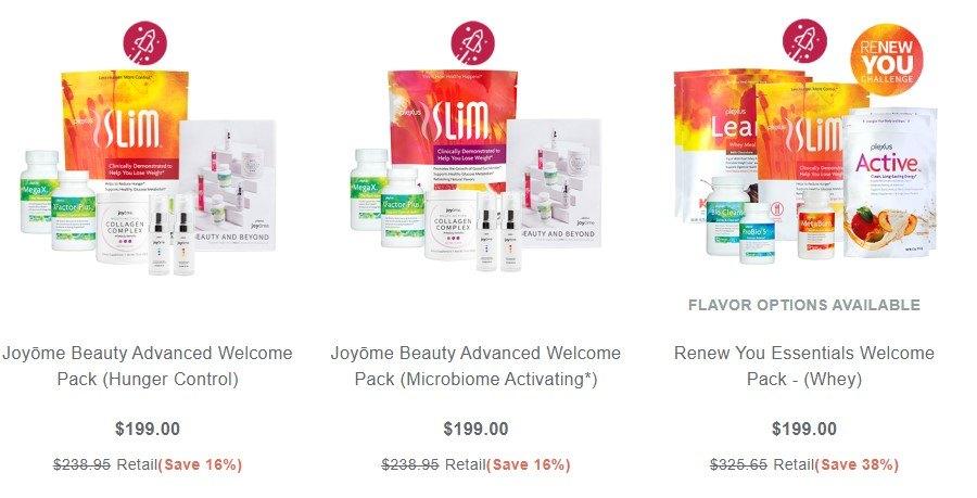 Plexus Worldwide MLM Review - Starter Kits