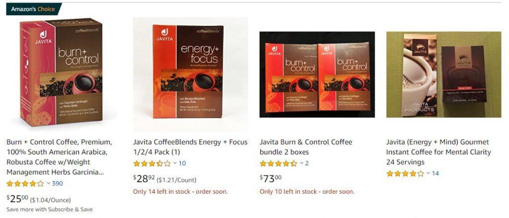 Javita MLM Review - Amazon Products